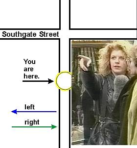 Can you tell me the way to - Giving Directions.